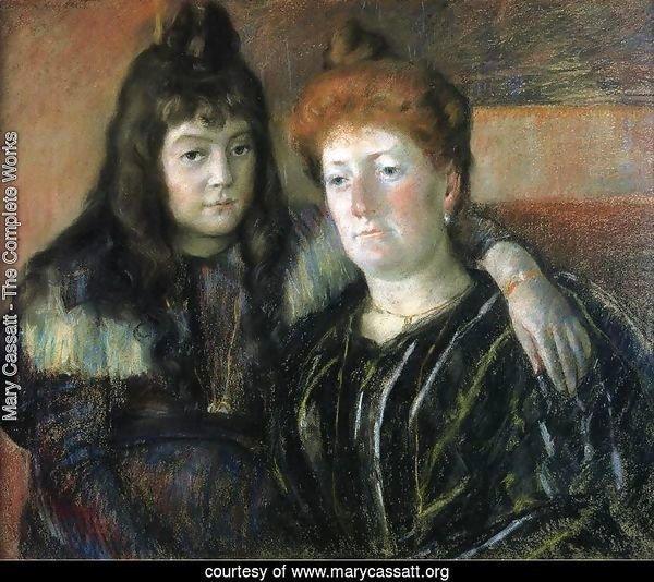 Madame Meerson And Her Daughter