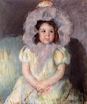 Mary Cassatt - Margot In White