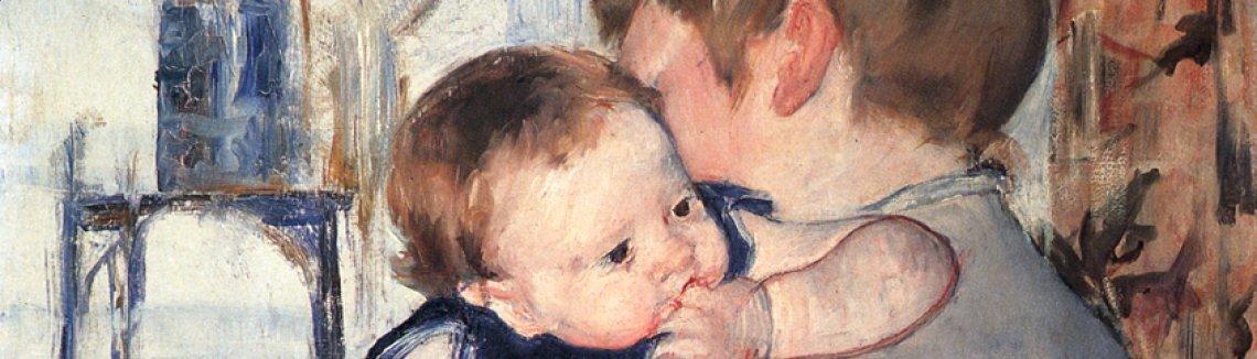 Mother and Child II - Mary Cassatt