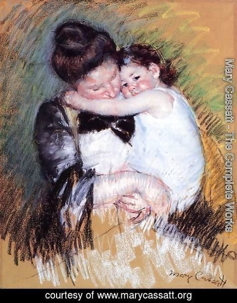 Mary Cassatt - Mother And Child2