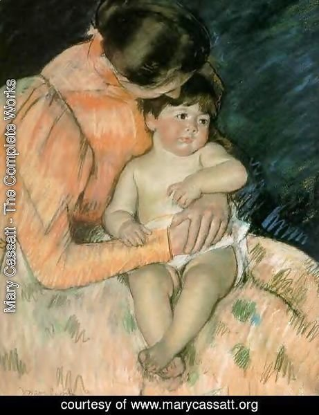 Mary Cassatt - Mother And Child3