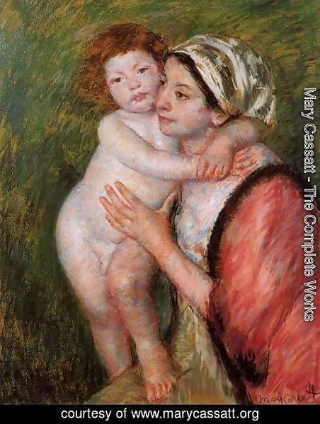 Mary Cassatt - Mother And Child4