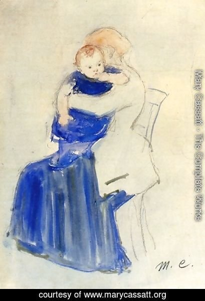 Mary Cassatt - Mother And Child5