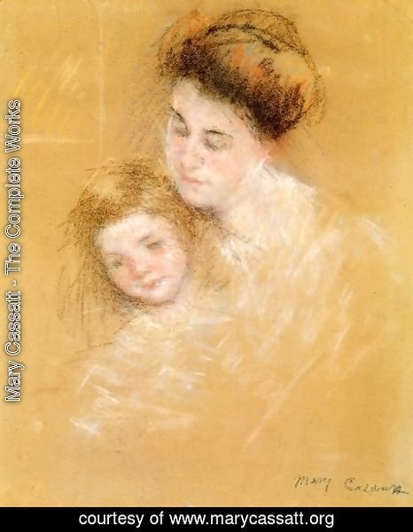 Mary Cassatt - Mother And Child6