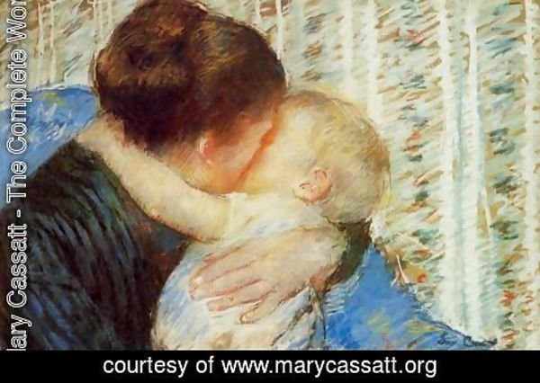 Mary Cassatt - Mother And Child7