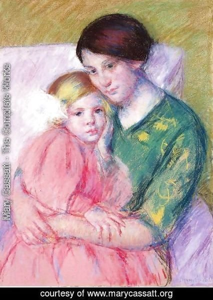 Mary Cassatt - Mother And Child Reading
