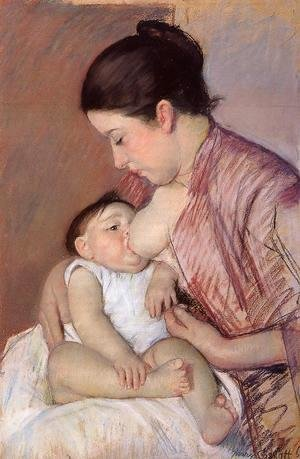 Mary Cassatt - Motherhood2