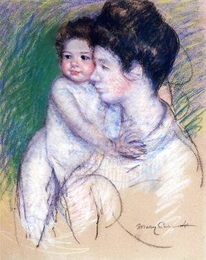 Mary Cassatt - Motherhood3