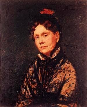 Mary Cassatt - Mrs Robert Simpson Cassatt