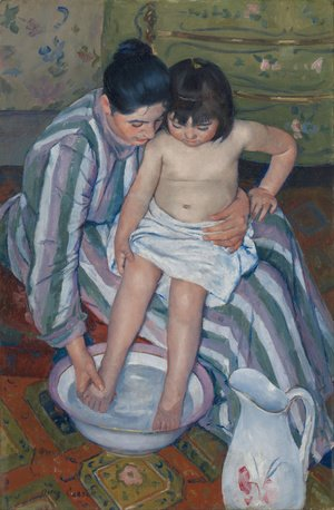 Mary Cassatt - The Child's Bath (1893)