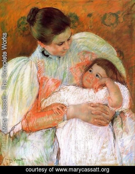 Mary Cassatt - Nurse And Child