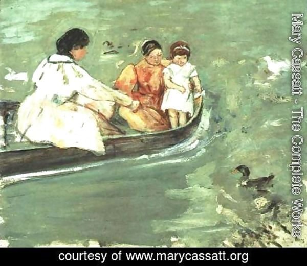 Mary Cassatt - On The Water