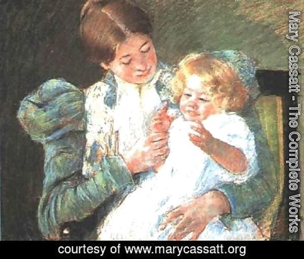 Mary Cassatt - Pattycake