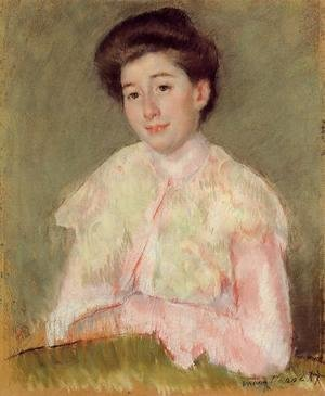 Mary Cassatt - Portrait Of A Lady