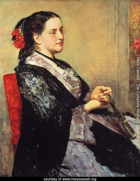 Portrait Of A Lady Of Seville