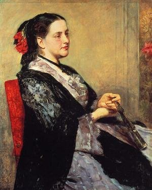 Mary Cassatt - Portrait Of A Lady Of Seville