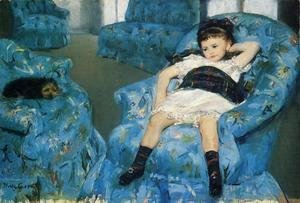 Mary Cassatt - Portrait Of A Little Girl