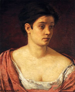 Mary Cassatt - Portrait Of A Woman