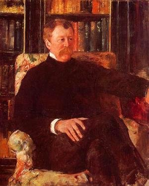 Mary Cassatt - Portrait Of Alexander J Cassatt2
