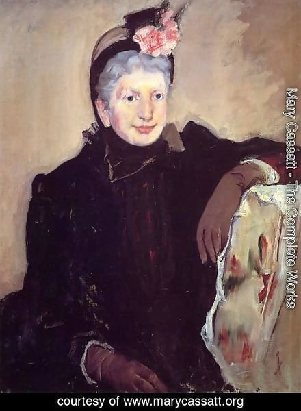 Mary Cassatt - Portrait Of An Elderly Lady