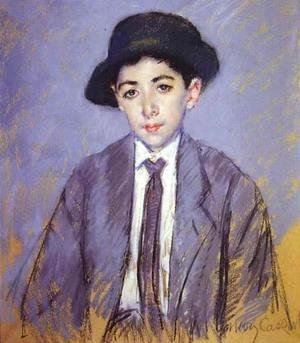 Mary Cassatt - Portrait Of Charles Dikran Kelekian At Age 12