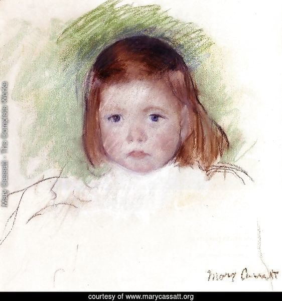 Portrait Of Ellen Mary Cassatt