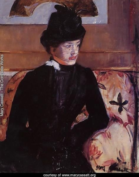 Portrait Of Madame J Aka Young Woman In Black