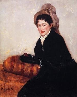 Mary Cassatt - Portrait Of Madame X Dressed For The Matinee