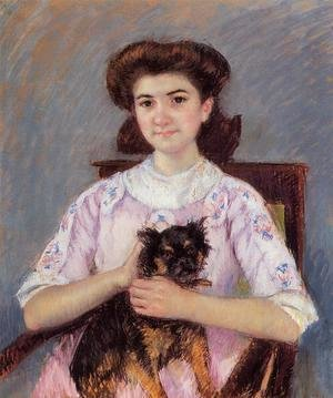 Mary Cassatt - Portrait Of Marie Louise Durand Ruel