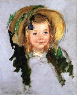 Mary Cassatt - Sara In A Bonnet