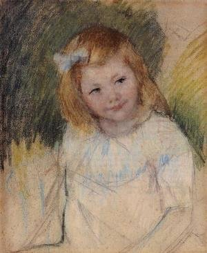 Mary Cassatt - Sara Looking Towards The Right