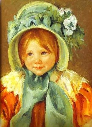 Mary Cassatt - Sarah In A Green Bonnet