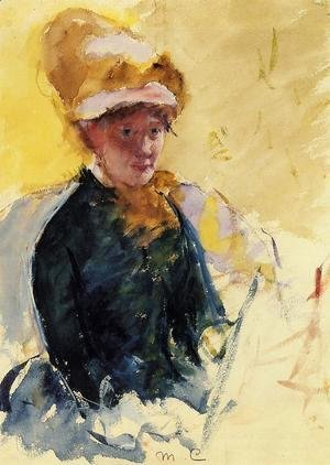 Mary Cassatt - Self Portrait
