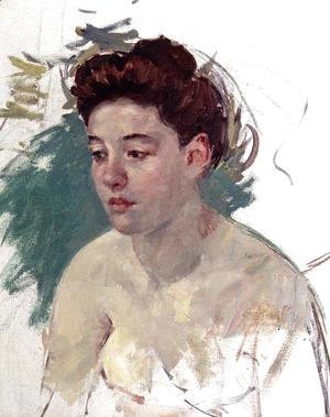 Mary Cassatt - Sketch Of Antoinette