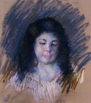 Mary Cassatt - Sketch Of Francoise