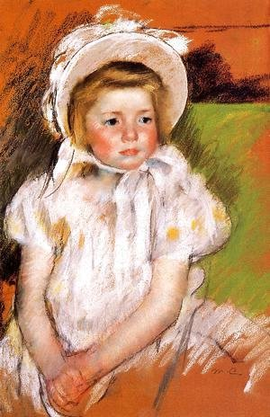 Mary Cassatt - Somone In A White Bonnet