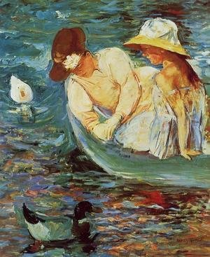 Mary Cassatt - Summertime