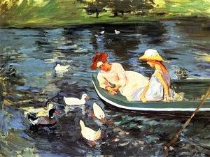 Mary Cassatt - Summertime2