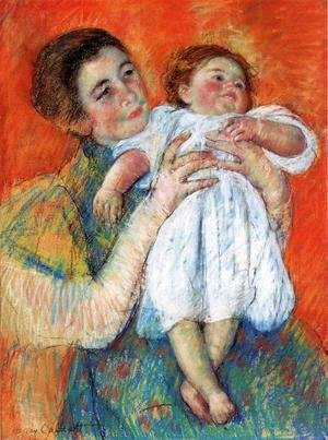 Mary Cassatt - The Barefoot Child2