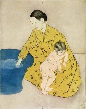 Mary Cassatt - The Childs Bath