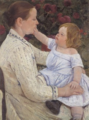Mary Cassatt - The Childs Caress