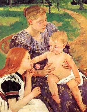 Mary Cassatt - The Family