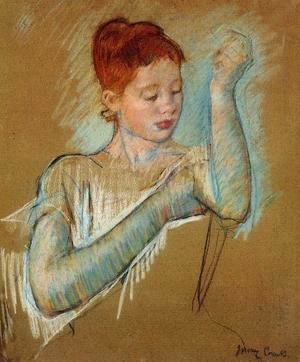 Mary Cassatt - The Long Gloves