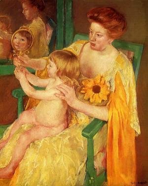 Mary Cassatt - The Mirror