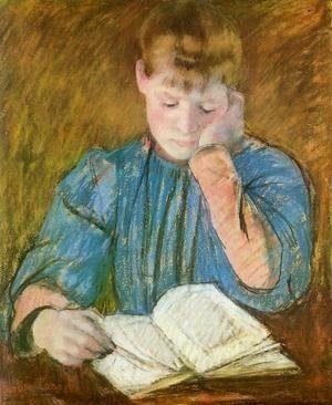 Mary Cassatt - The Pensive Reader