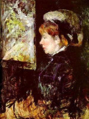Mary Cassatt - The Visitor