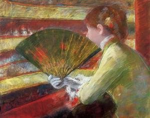 Mary Cassatt - Theater