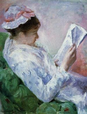 Mary Cassatt - Woman Reading