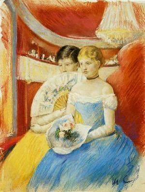 Mary Cassatt - Women In A Loge