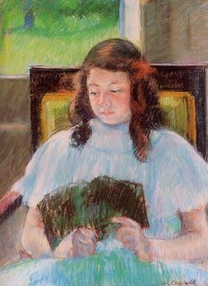 Mary Cassatt - Young Girl Reading